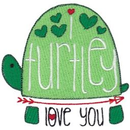 I Turtley Love You