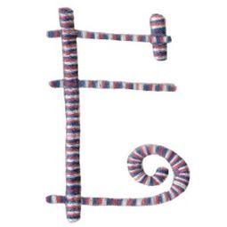 Curlz Alphabet E