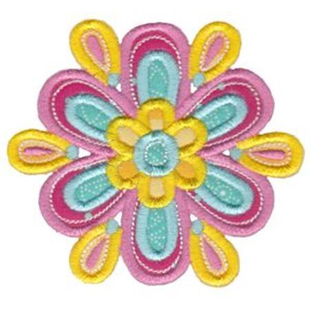 Cute Flower Applique 5