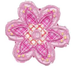 Cute Flower Raggedy Applique 11