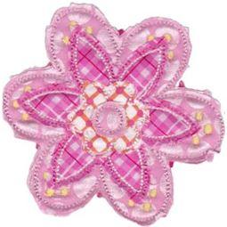 Cute Flower Raggedy Applique 11