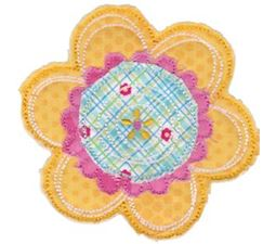 Cute Flower Raggedy Applique 4