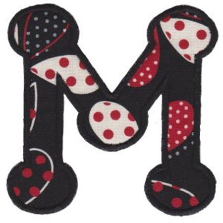 Cute Greek Alphabet Applique 12