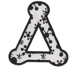 Cute Greek Alphabet Applique 4