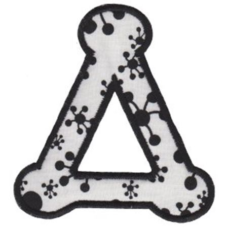 Cute Greek Alphabet Applique 4