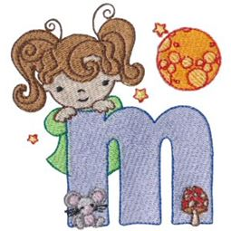 Cuties Alphabet  M
