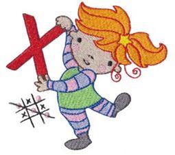 Cuties Alphabet X