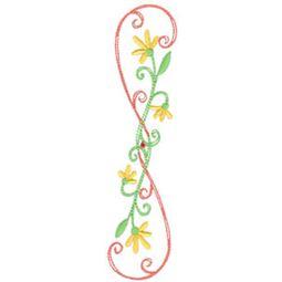 Daisy Swirls 10