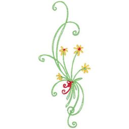 Daisy Swirls 13