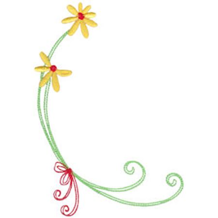 Daisy Swirls 14