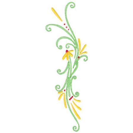 Daisy Swirls 2