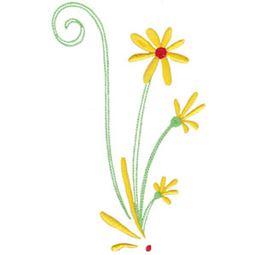 Daisy Swirls 3