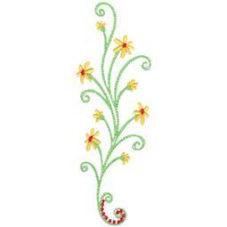Daisy Swirls 6