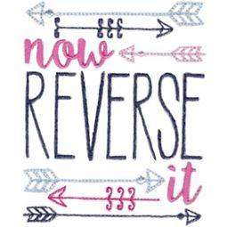 Now Reverse It