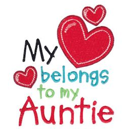 My Heart Belongs To My Auntie