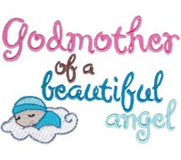 Godmother Of A Beautiful Angel Boy