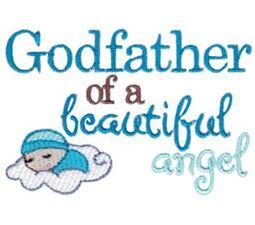 Godfather Of A Beautiful Angel Boy