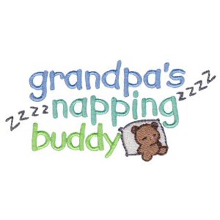 Grandpa's Napping Buddy
