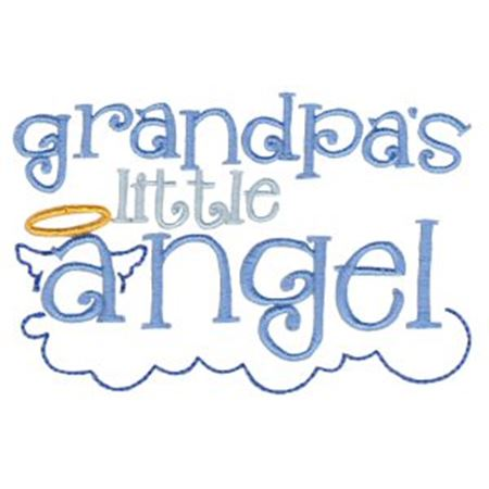 Grandpa's Little Angel
