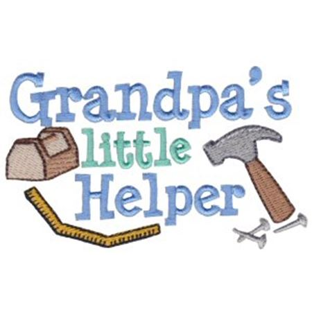 Grandpa's Little Helper