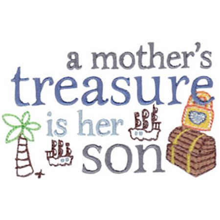 A Mother's Treasure Is Her Son