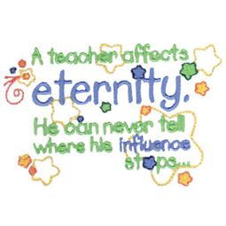 t	A Teacher Affects Eternity Boy
