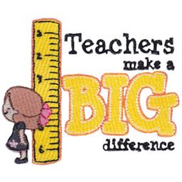 Teachers Make A Big Difference Girl