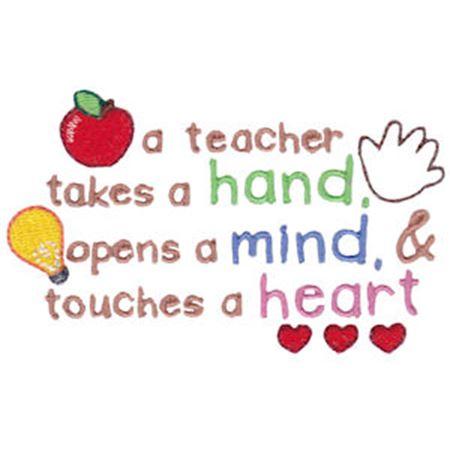 A Teacher Takes A Hand
