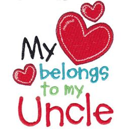 My Heart Belongs To My Uncle