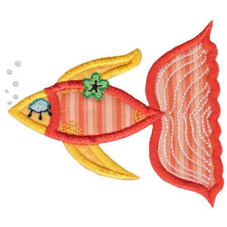 Decorative Sea Creatures Applique 2