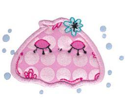 Decorative Sea Creatures Applique 3