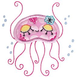 Decorative Sea Creatures Applique 9