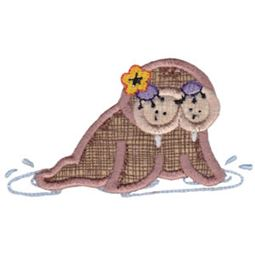 Decorative Sea Creatures Too Applique 11