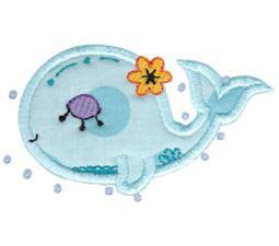 Decorative Sea Creatures Too Applique 12