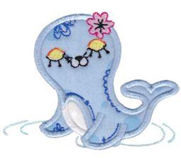 Decorative Sea Creatures Too Applique 2