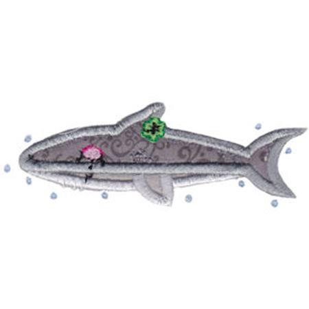 Decorative Sea Creatures Too Applique 4
