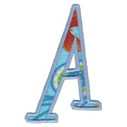Delicious Applique Alphabet a