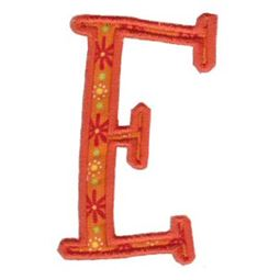 Delicious Applique Alphabet e