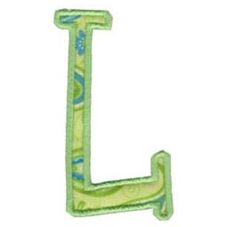 Delicious Applique Alphabet l