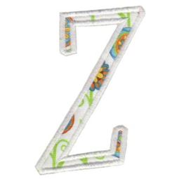 Delicious Applique Alphabet z