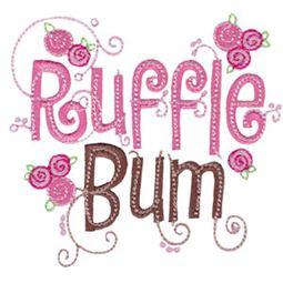 Ruffle Bum