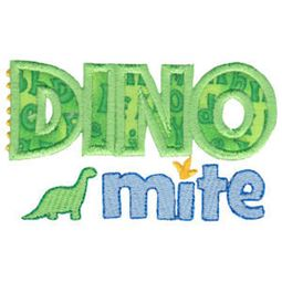 Dinomites Applique 16