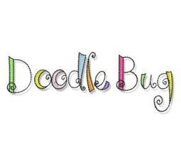 Doodle Bugs Applique 12
