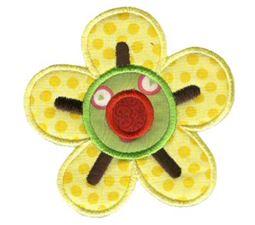 Doodle Flowers Applique 7