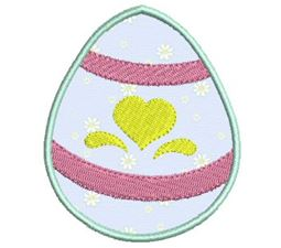 Easter Eggs Applique 2