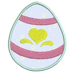 Easter Eggs Applique 2