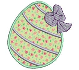 Easter Eggs Applique 4