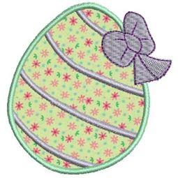 Easter Eggs Applique 4