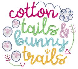 Cotton Tails and Bunny Trails