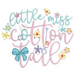 Little Miss Cotton Tail